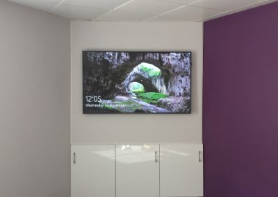 65inch Commercial Display in Dublin Office