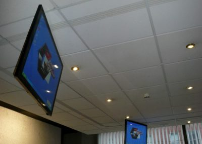 Display Screens in Dublin Office Reception Area
