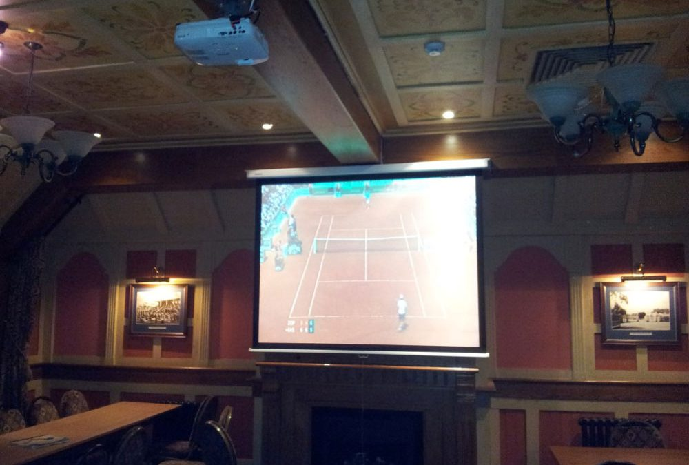 Pub Projector Installation