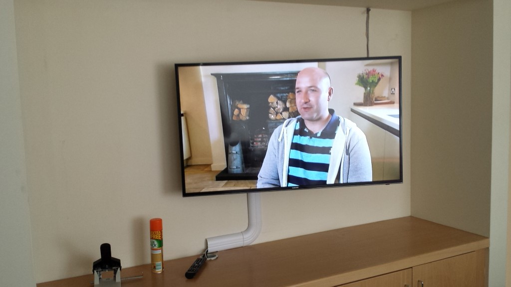 TV Display in Office